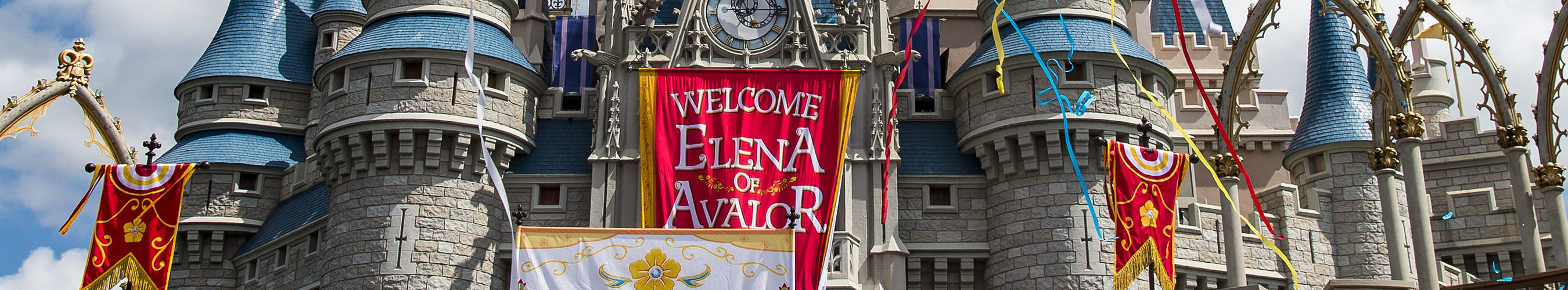 "Princess Elena of Avalor, the first Latin-inspired Disney princess, receives a royal welcome on Aug. 11, 2016 during her arrival at Magic Kingdom Park in Lake Buena Vista, Fla. Princess Elena's arrival at Walt Disney World follows the debut of the new Disney Channel animated series, ""Elena of Avalor."" The adventurous princess appears daily in ""The Royal Welcome of Princess Elena"" stage show at Magic Kingdom. (Matt Stroshane, photographer) (PRNewsFoto/Walt Disney World Resort)"